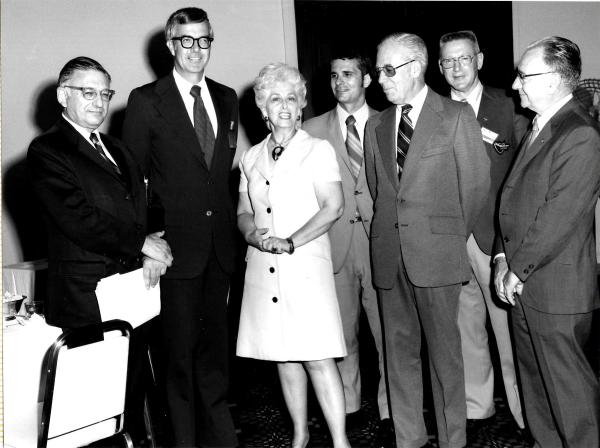 1969 - 1972 - Executives from McDonnell and Douglas for a Merger Meeting